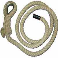 Hemp Gym Climbing Rope- Natural or Synthetic