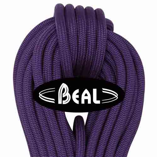 Beal Wallmaster Indoor Climbing Rope 10.5mm violet