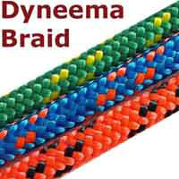 4mm dinghy dyneema braid.