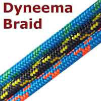 5mm dinghy dyneema braid.