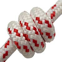 **SALE** dyneema braid 16mm red fleck 50% off