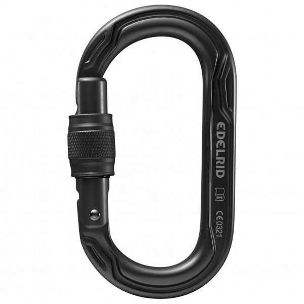 Edelrid Oval Power 2500 screw lock carabiner