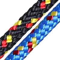 Polylite dinghy sheet rope.