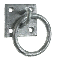 4-hole Ring Plate (Galvanised Steel)