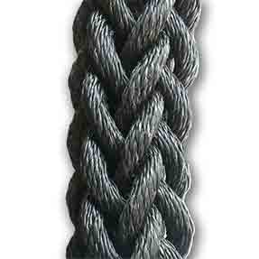 Battle Rope: 12 Strand Synthetic Battle / Power Rope - Click Image to Close