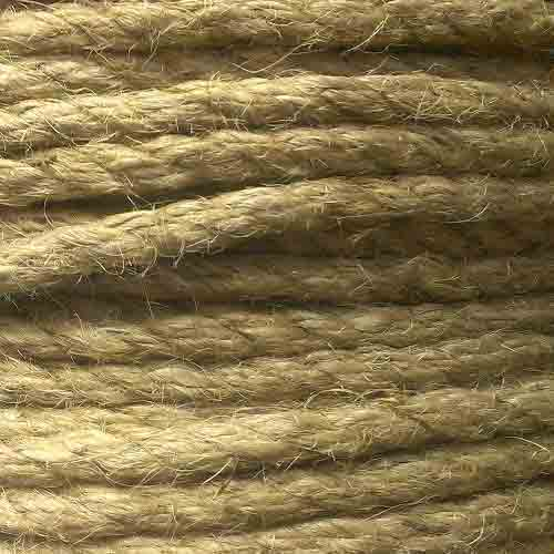 Natural 3 strand Jute Rope - Click Image to Close