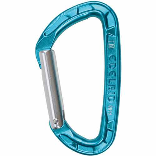 Edelrid Pure Straight karabiner/ carabiner - Click Image to Close