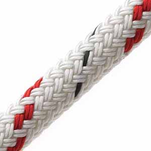 16mm x 12.6m Red Fleck Doublebraid