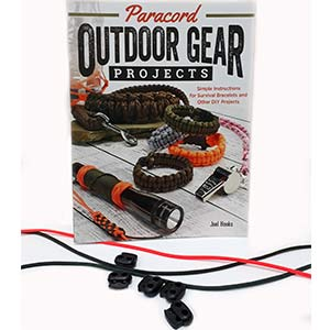 Gift Set: Outdoor Gear Paracord Projects with paracord