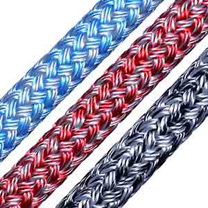 Silverline: doublebraid rope by English Braids
