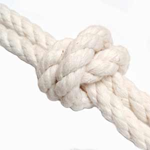 Natural 3 strand Cotton Rope
