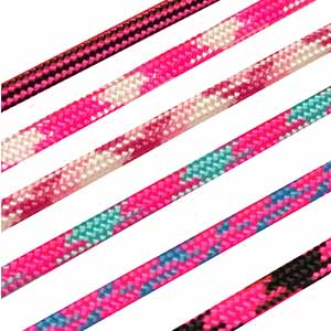 Paracord USA made: Patterned Pinks