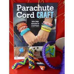Gift Set: Paracord Book, Key Fob and Paracord (IV)