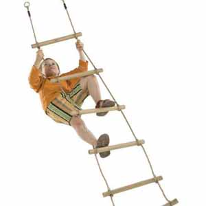 Children's rope ladder