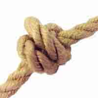 Hemp Rope- 100% natural 3 strand hemp