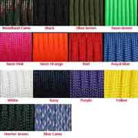 550 Parachute Cord / Paracord USA made