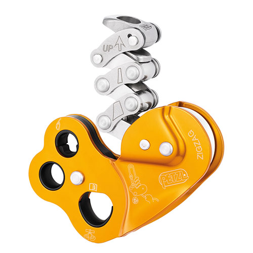 Petzl ZigZag mechanical prussik for tree care